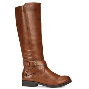 New! Style & co madixe brown tall boots size 6